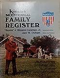 img - for Kentucky's Bicentennial Family Register. book / textbook / text book