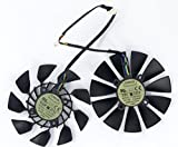 TOMUM 2pcs/lot T129215SU DC Brushless Fan 12V 0.5A 95mm For GTX780/780TI R9 280/280X 290/290x GTX970/980 Cooling Fan Graphicss Card Fan