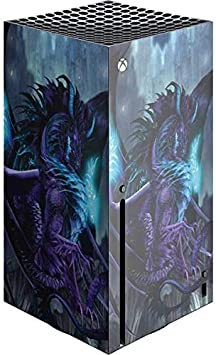 Skinit Decal Gaming Skin Compatible with Xbox Series X Console - Tate and Co. Talisman Dragon Design