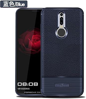 Funda® Firmeza y Flexibilidad Smartphone Funda Carcasa Case Cover Caso para Huawei Mate RS(Azul Oscuro): Amazon.es: Electrónica