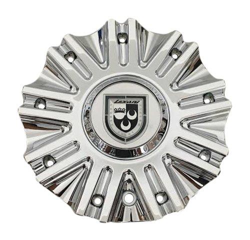 - Lexani Wheels LX-19 655C01 S812-13-34 Chrome Wheel Center Cap