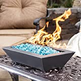 Alpine Flame Westfalen 24-inch Table-top Natural Gas Fire Pit – Black Review