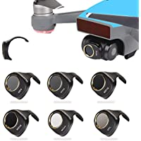 Drone Fans 6 Pack Camera Lens Filter CPL & MCUV & ND4 & ND8 & ND16 & ND32 Filters Kit for DJI SPARK Won't Affect Gimbal Calibration