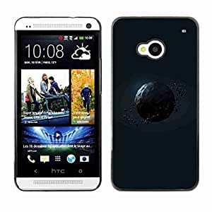 Planetar® ( Polygon Planet ) Fundas Cover Cubre Hard Case Cover HTC One (M7)