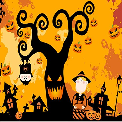 Decorative Wall Sticker, AMA(TM) Happy Halloween Household Room Wall Sticker Mural Removable Decal Home Decor (Multicolor)