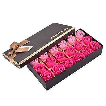 eDealMax Ornamento de la Flor de la Novia de Regalo Artificial del Cuerpo del pétalo del