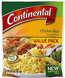 Continental  Pack Rice Chicken Side Dish Value Pack 190g