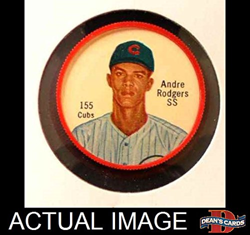1962 Salada Coins # 155 COR Andre Rodgers (Baseball Card) (Last Name Correctly Spelled Rodgers) Dean's Cards 3 - VG