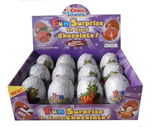 Choco Treasure Everyday Single Egg (Pack of 12)