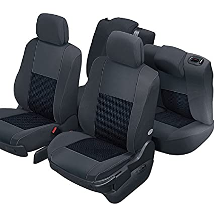 Finition Haut de Gamme Compatible Airbag Sur Mesure Isofix Montage Rapide DBS 19397 Housse de si/ège Auto // Voiture