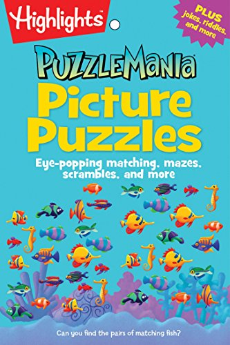 Travel Pad Activity (Picture Puzzles: Eye-popping matching, mazes, scrambles, and more (Highlights Puzzlemania Puzzle Pads))