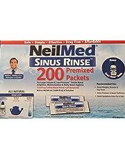 NeilMed Sinus Rinse 200 Packets with Bonus Rinse Bottle