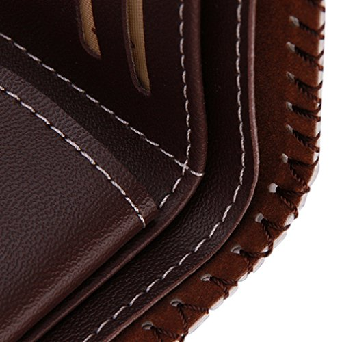 Leather Hengsong Unisex Stars PU Wallet Hengsong Stripes Multifunction Handmade Unisex YRRF7