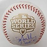 Jon Miller Autographed Baseball - 2012 World Series San Francisco Giants Oml Coa