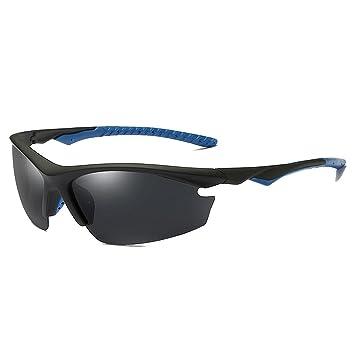 Ciclismo Gafas Gafas de sol de los deportes de los hombres polarizados del estilo semi-