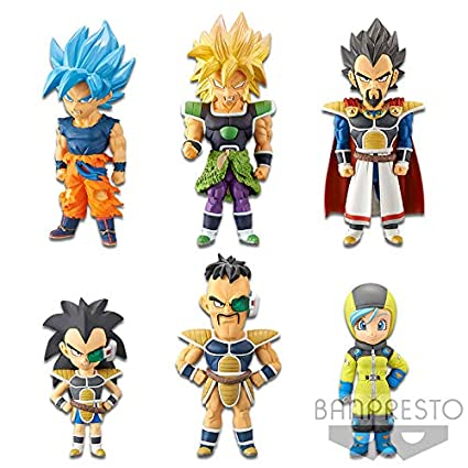 Amazon Com Dragon Ball Super Saiyan Son Goku Broly Bulma Nappa