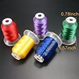 New brothread 80 Spools Polyester Embroidery