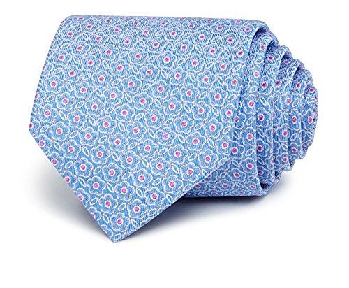The Men's Store Bloomingdale's 100% Silk Textured Floral Classic Necktie Lt - Men Bloomingdale