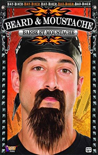 Forum Novelties Biker Beard and Moustache (Black) 6