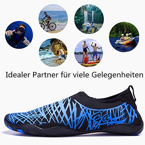 Schage La Navigation Natation Du Water Barefoot Rapide Lac 44 En Yoga Lekuni bluejy Bateau Pour Homme Sur Shoes Plage 8F0I0qvx
