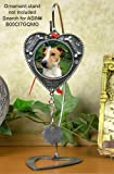 Dog Ornament - Pet Memorial Picture Christmas