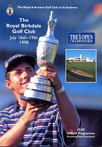 1998 British Open Official Programme- The Royal Birkdale Golf (British Open Golf)