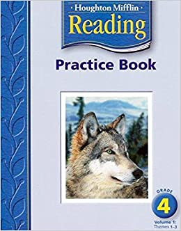 Houghton Mifflin Reading: Practice Book, Volume 1 Grade 4: HOUGHTON ...