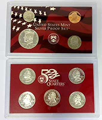 United State Mint Silver Proof Set 1999-S