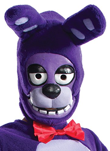 UHC Girl's Five Nights at Freddy's Bonnie Child Mask Halloween Costume (Bonnie Halloween Costume)
