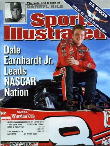 Sports Illustrated July 1, 2002 Dale Earnhardt Jr, Darryl Kile, U.S. Soccer, Sue Bird WNBA, Huston Street/Texas Longhorns Baseball