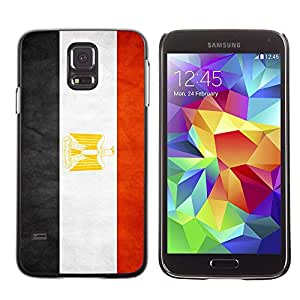 Shell-Star ( National Flag Series-Egypt ) Fundas Cover Cubre Hard Case Cover para Samsung Galaxy S5 V SM-G900