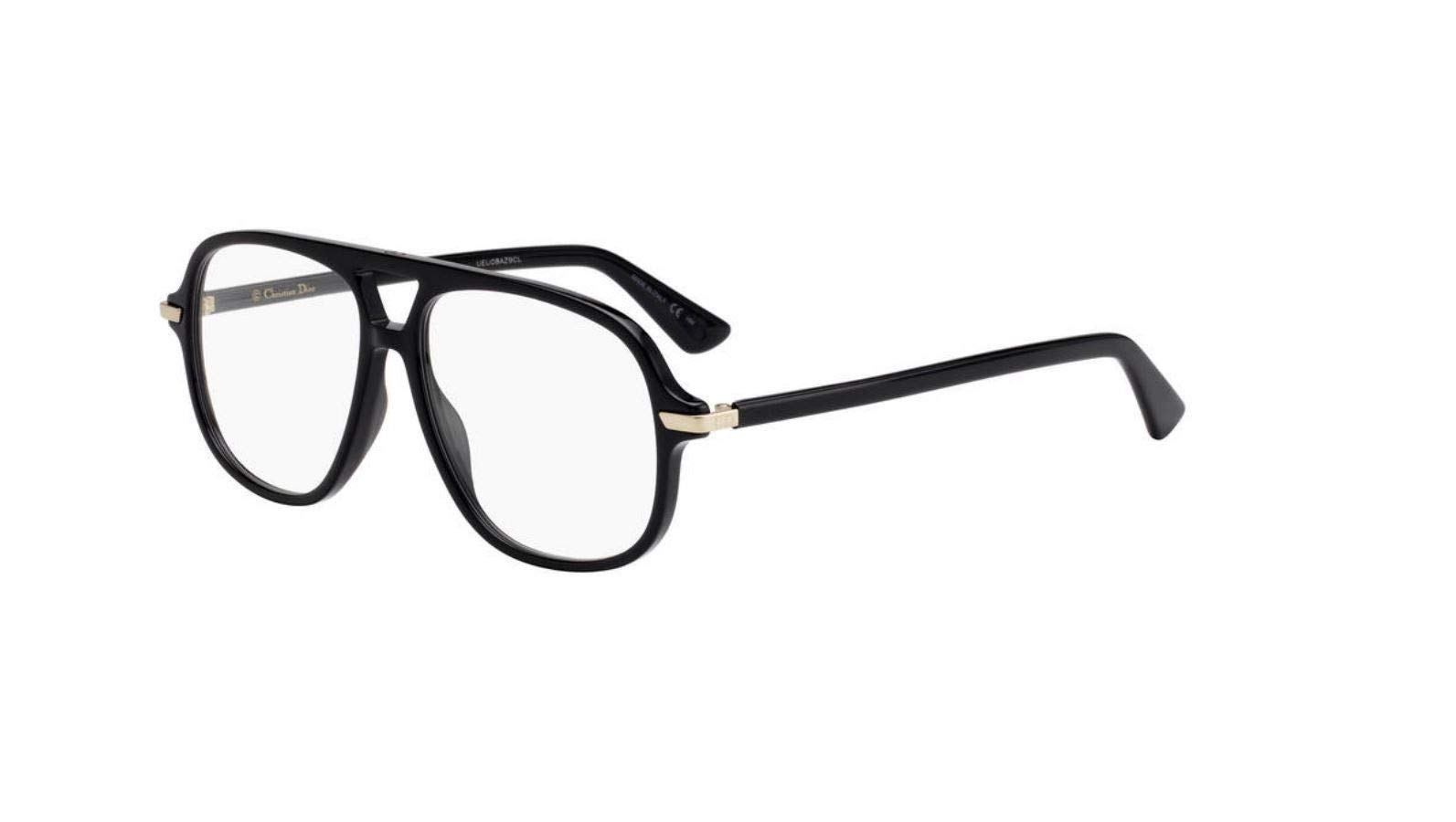Authentic Christian Dior Essence 16 0807 Black Eyeglasses by Dior