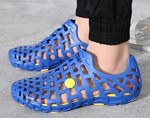 2017 verano nueva pvc pareja de hombres y sandalias casuales zapatillas de casa femeninos 1