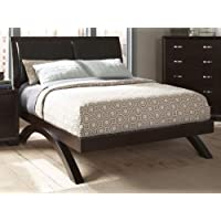 Homelegance Astrid Bed in Espresso - Queen