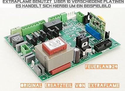 Placa de control Placa base unidad de control extra Flame Pellet Horno apto para todos los
