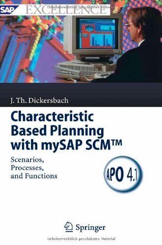 Download Characteristic Based Planning with mySAP SCMTM (SAP Excellence) Pdf