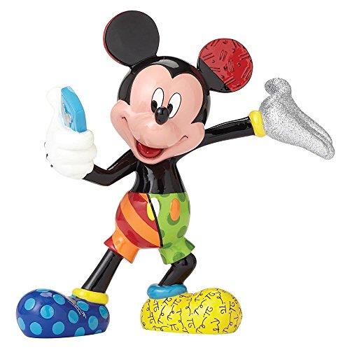 Disney by Britto Selfie Mickey Stone Resin Figurine