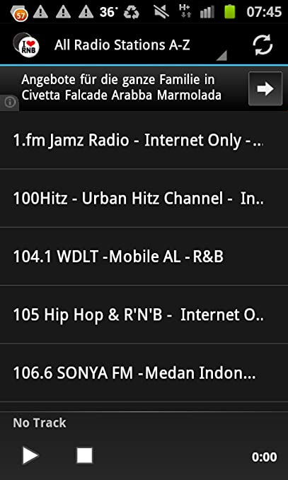 R&B Urban Music Radio Stations