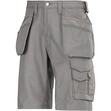Snickers 30141818042 Größe 42 Handwerker Holster Pocket Shorts, Grau