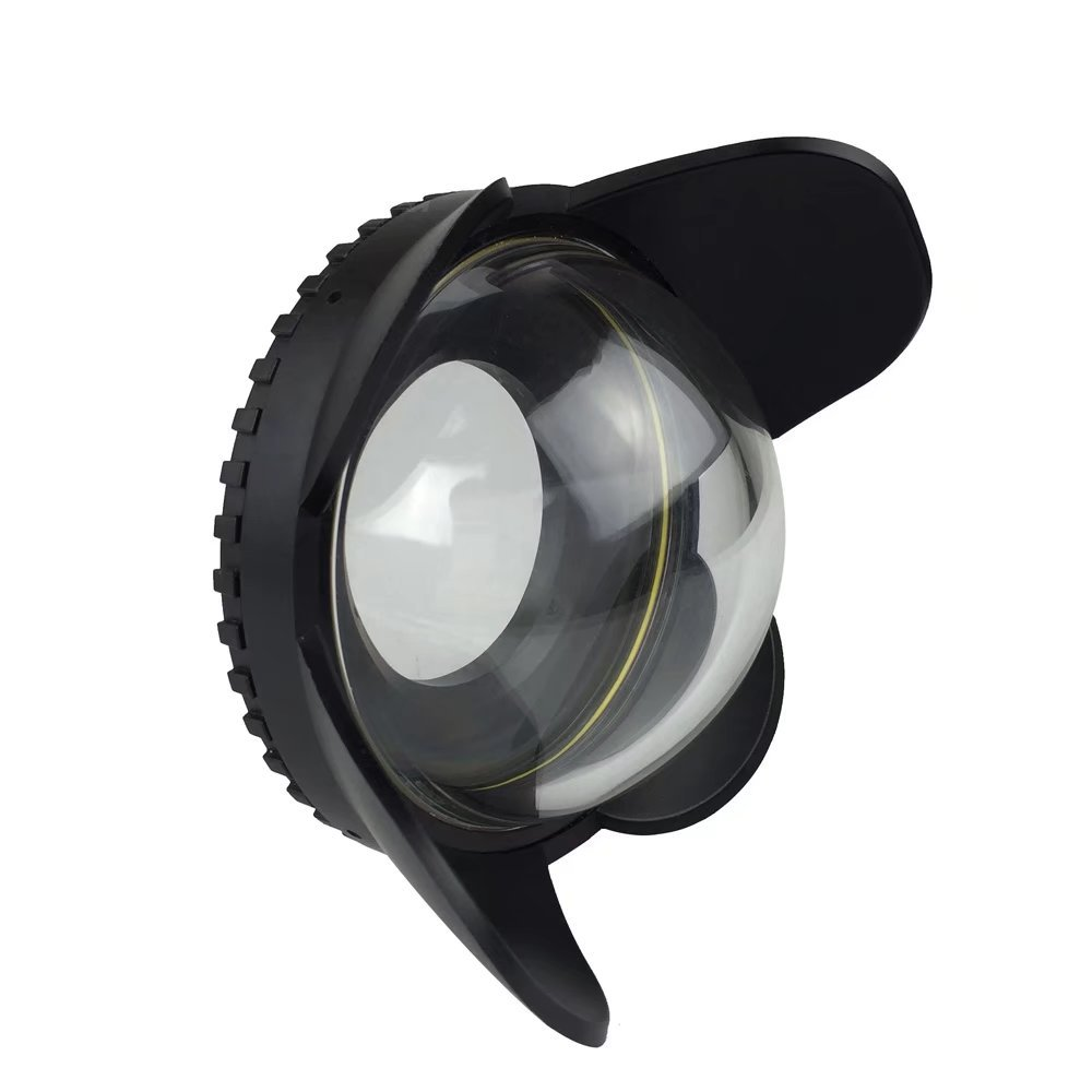 Sea frogs Wide Angle Wet Correctional Dome Port Lens for Underwater Housings (67mm Round Adapter)