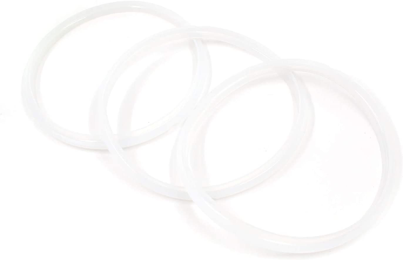 MTMTOOL Power Pressure Cooker Sealing Ring 3-Pack Replacement Gasket for Most 5 Liter 6 Liter 5 Quart and 6 Quart Models