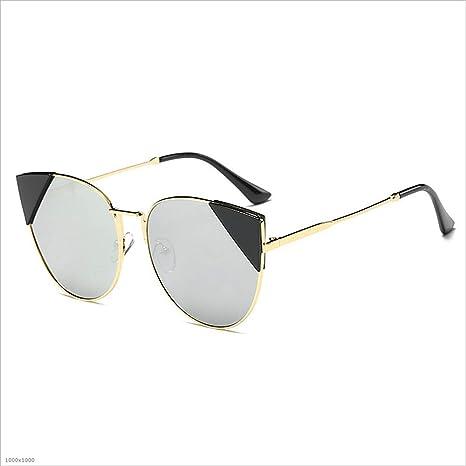 Oipoodde Dama Gafas de Sol Sra. Irregular Gafas de Sol Marco ...