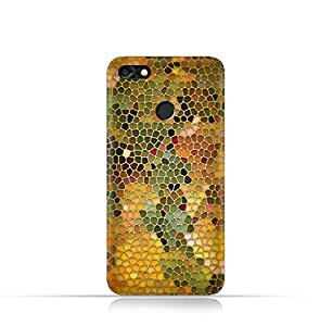 Huawei P9 LITE MINI TPU Silicone Case With Stained Glass Art Design