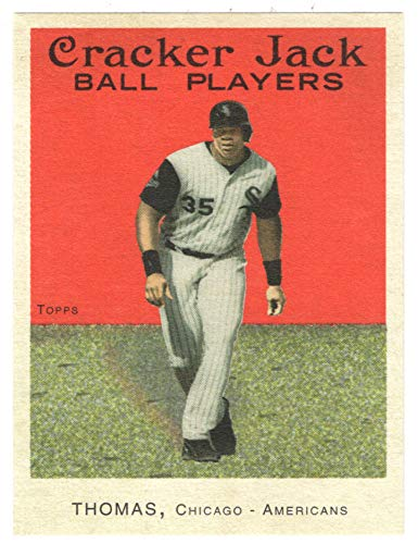 (Frank Thomas (Baseball Card) 2004 Topps Cracker Jack MINI # 152 NM/MT)