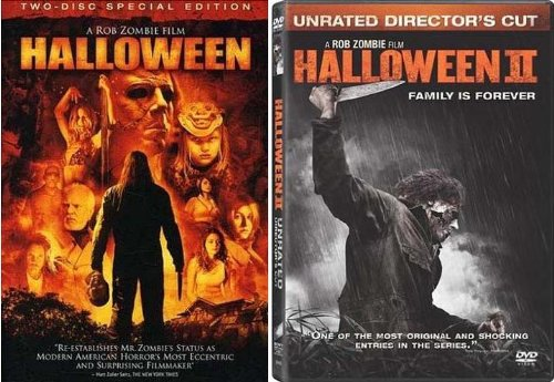 Halloween (Two-disc Special Edition) and Halloween 2 Unrated Director's Cut - Rob Zombie Halloween 2 (Rob Zombie Halloween 2 Dvd)