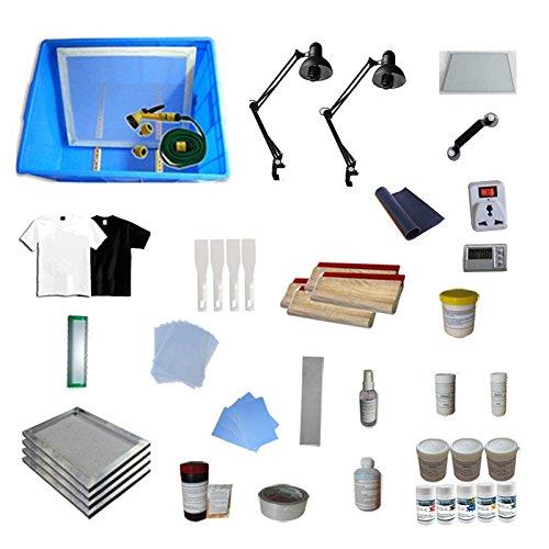 T-shirt Screen Printing Materials Kit B by Screen Printing Equipment