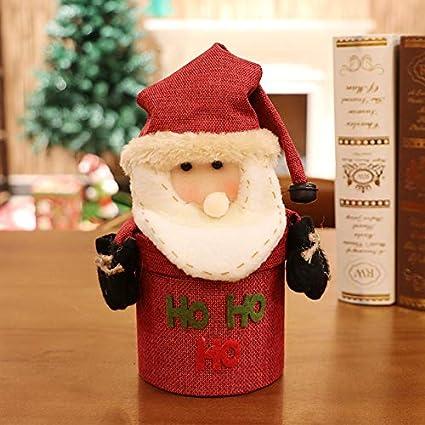 Weihnachtsgeschenke Lebensmittel.Kreative Weihnachtsbonbons Können Leinengeschenk Geschenkbox