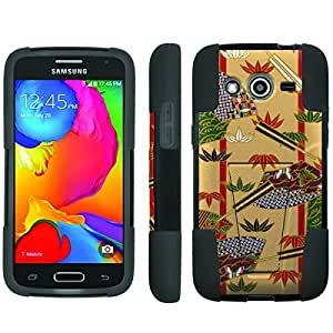 [ArmorXtreme] Hybrid Armor View-Stand Design Image Protect Case (Fan) for Samsung Galaxy Avant G386