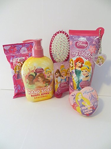 Disney Princesses Bath Combo Set (6 Pieces)