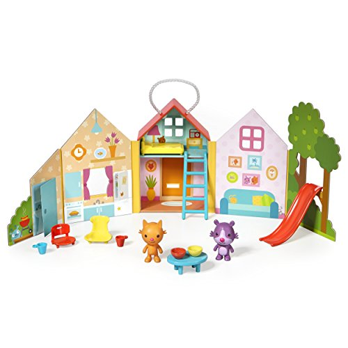 Toy House Playset - Sago Mini Jinja's House Portable Playset, For Ages 3 & Up